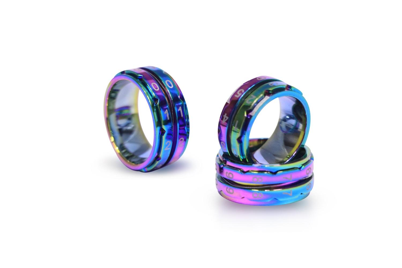Knit Pro Reihenzähler Ring, Regenbogen