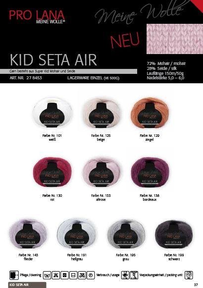 Pro Lana Kid Seta Air 50g  0,5kg