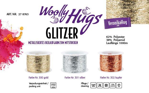 Woolly Hugs GLITZER 1000m