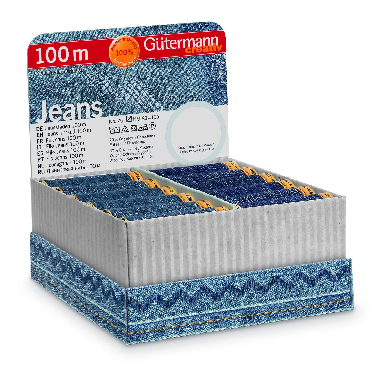 Gütermann 799733 Storage Jeansfaden 100m