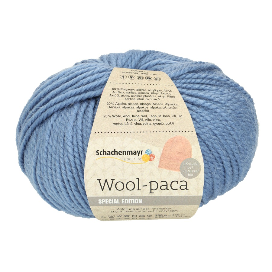 SMC Wool-paca 150g. Sort. 7,2kg