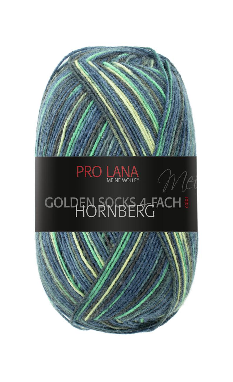 Pro Lana Golden Socks 4f. Hornberg 100g