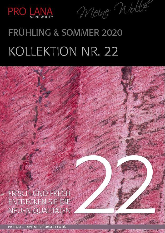 Katalog 22 Frühjahr-Sommer-Kollektion 2020