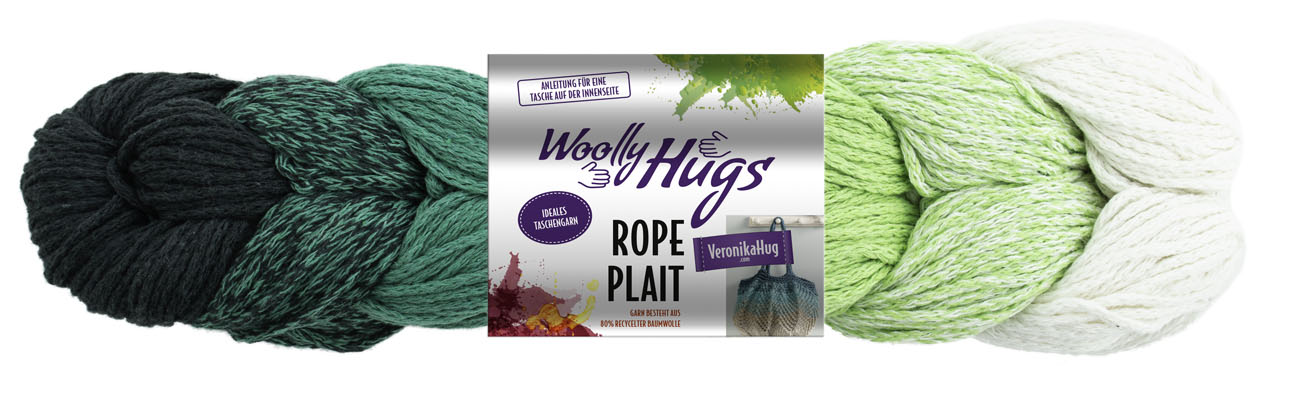 Woolly Hugs ROPE PLAIT  250g  1kg