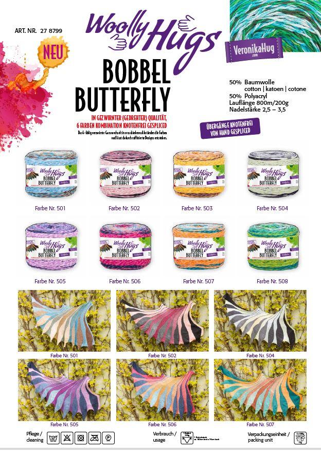 BOBBEL Butterfly  MIX Paket F 1,6kg
