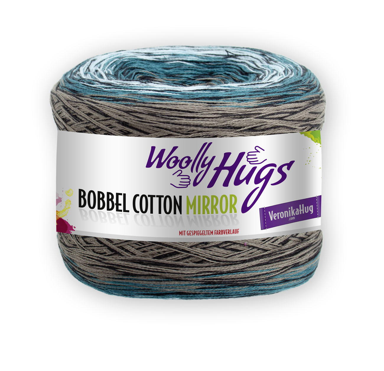 Woolly Hugs BOBBEL cotton MIRROR  200g 1kg