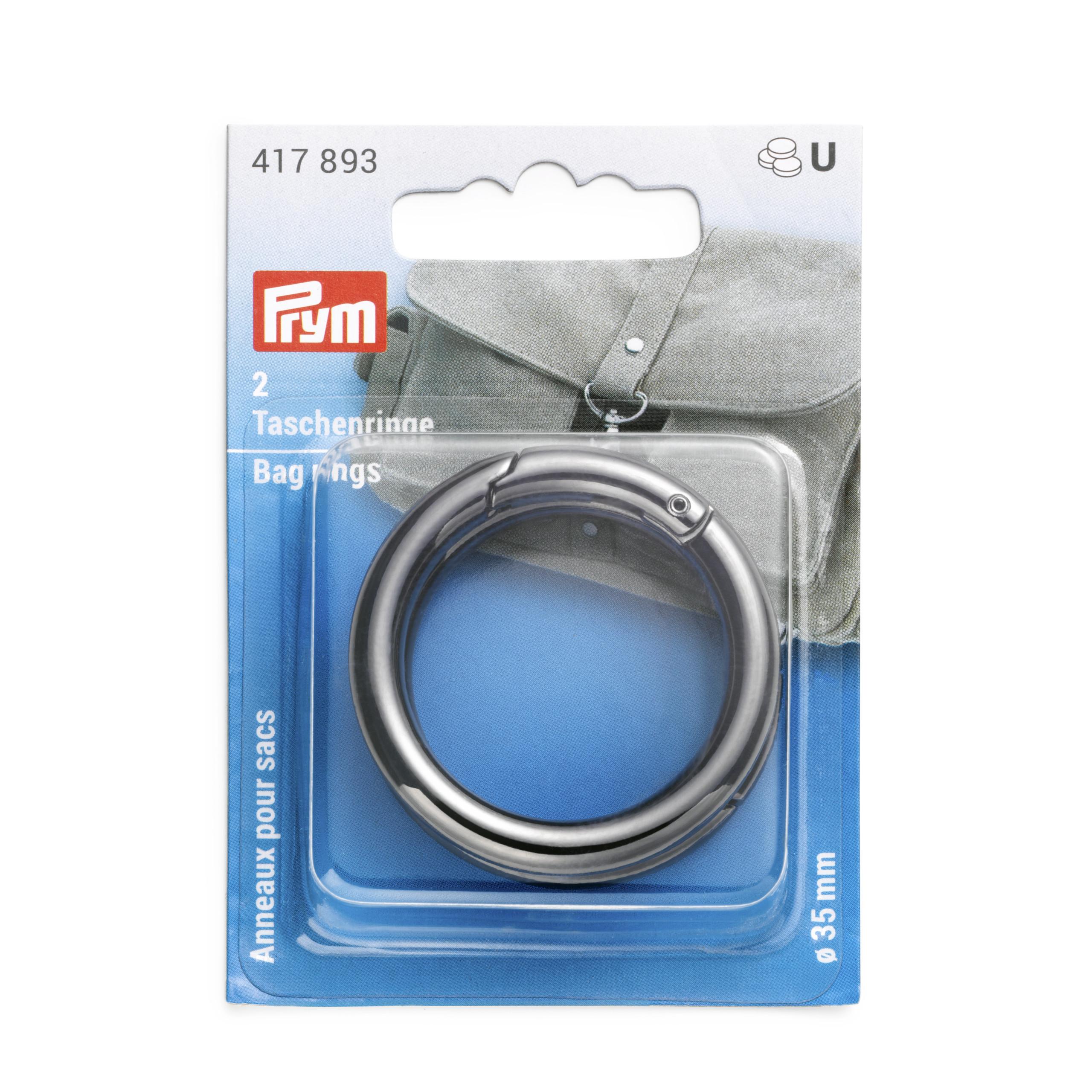 Prym 417893 Taschenringe 35mm