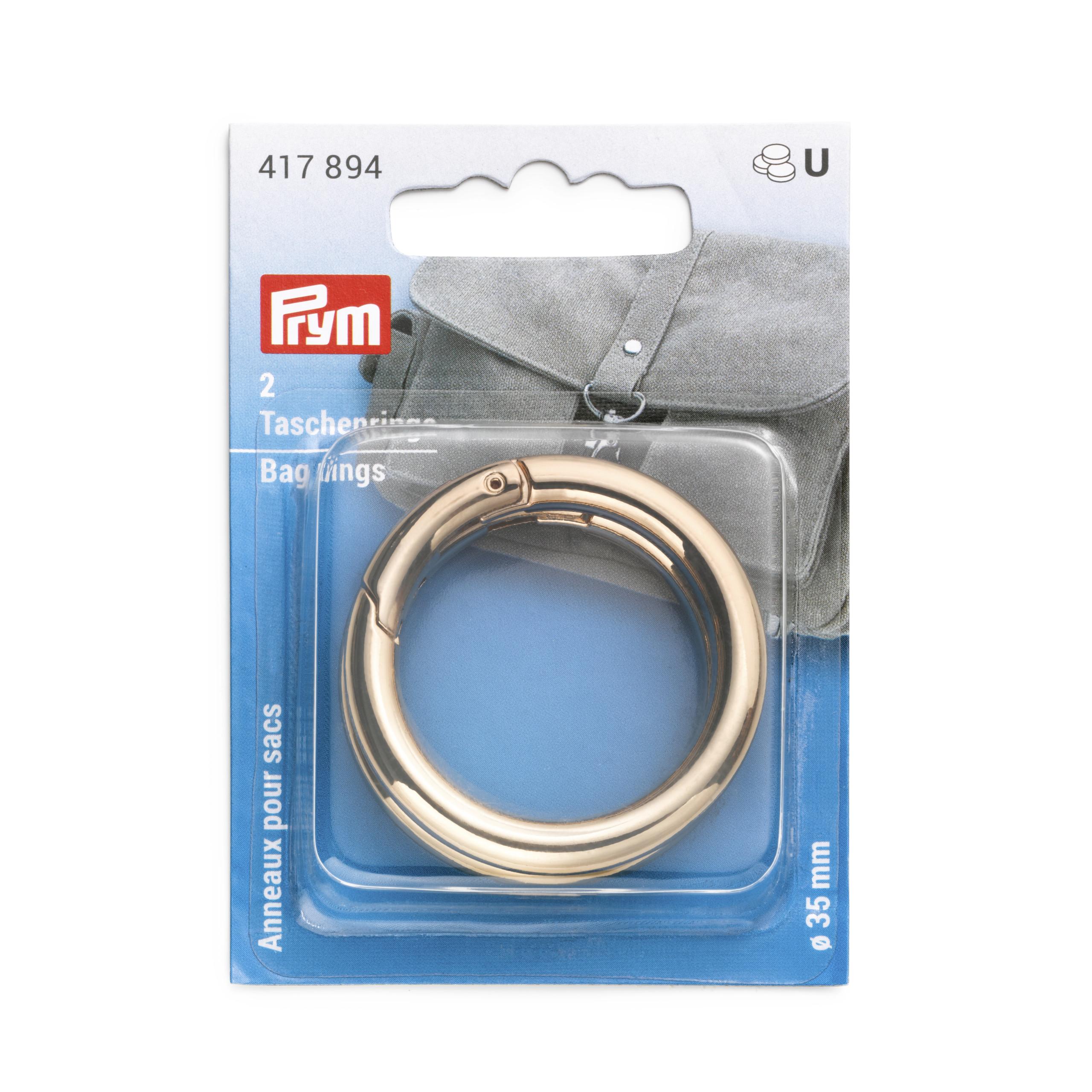 Prym 417894 Taschenringe 35mm