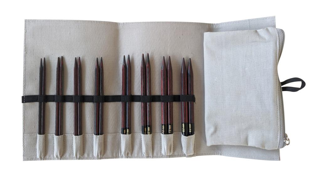 Knit Pro Spitzen Set Pro Lana Farb-Edition Ruby