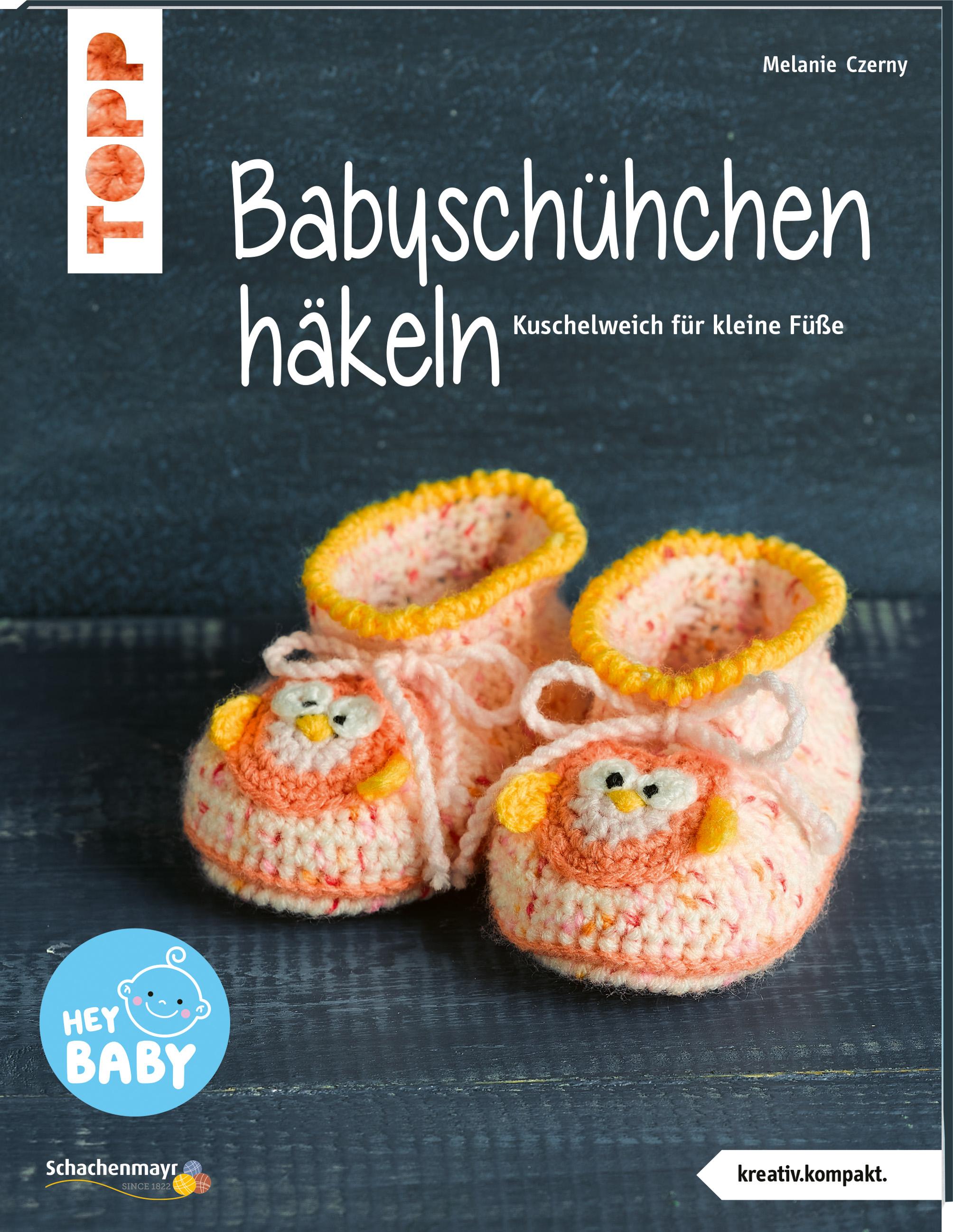 Topp 6841 Babyschühchen häkeln