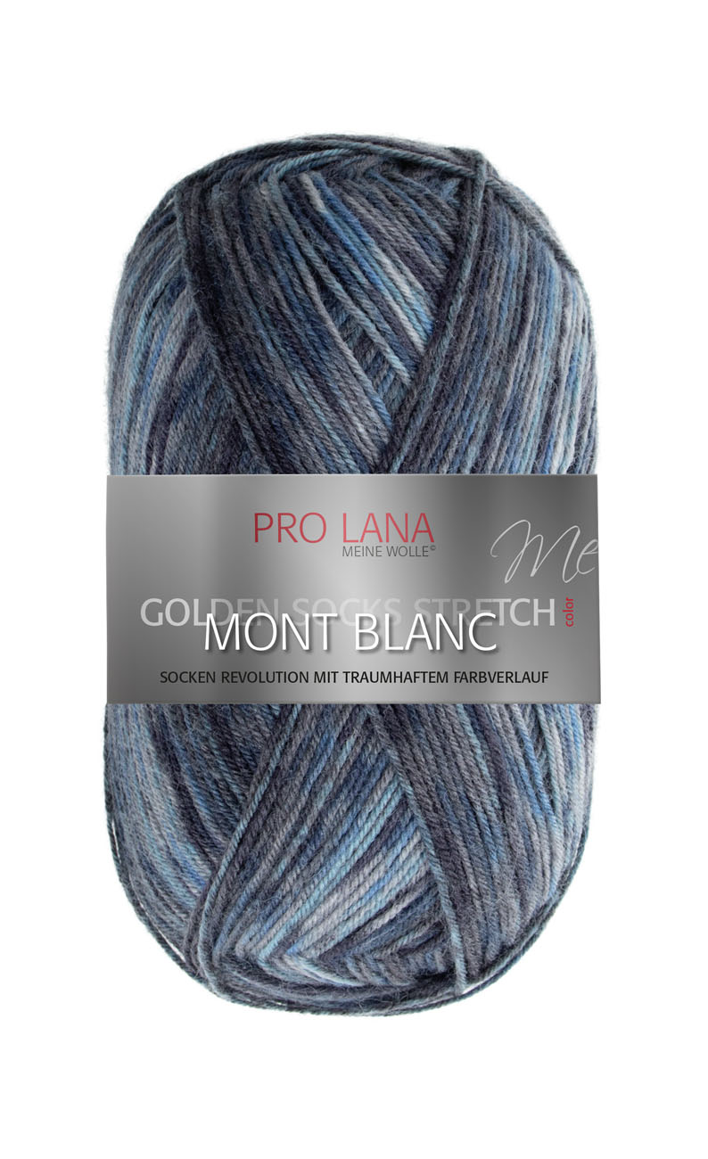PL Golden Socks 4f.100g Stretch MONT BLANC