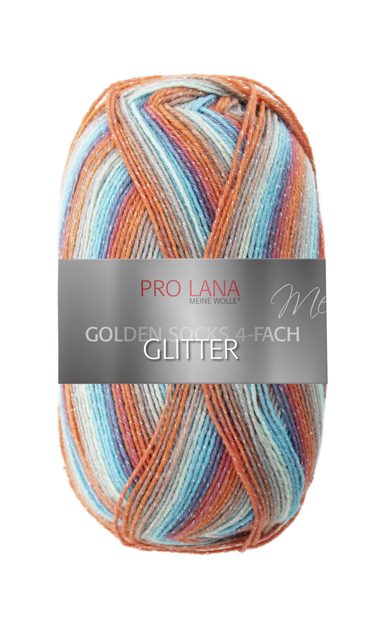PL Golden Socks GLITTER  4f. 100g