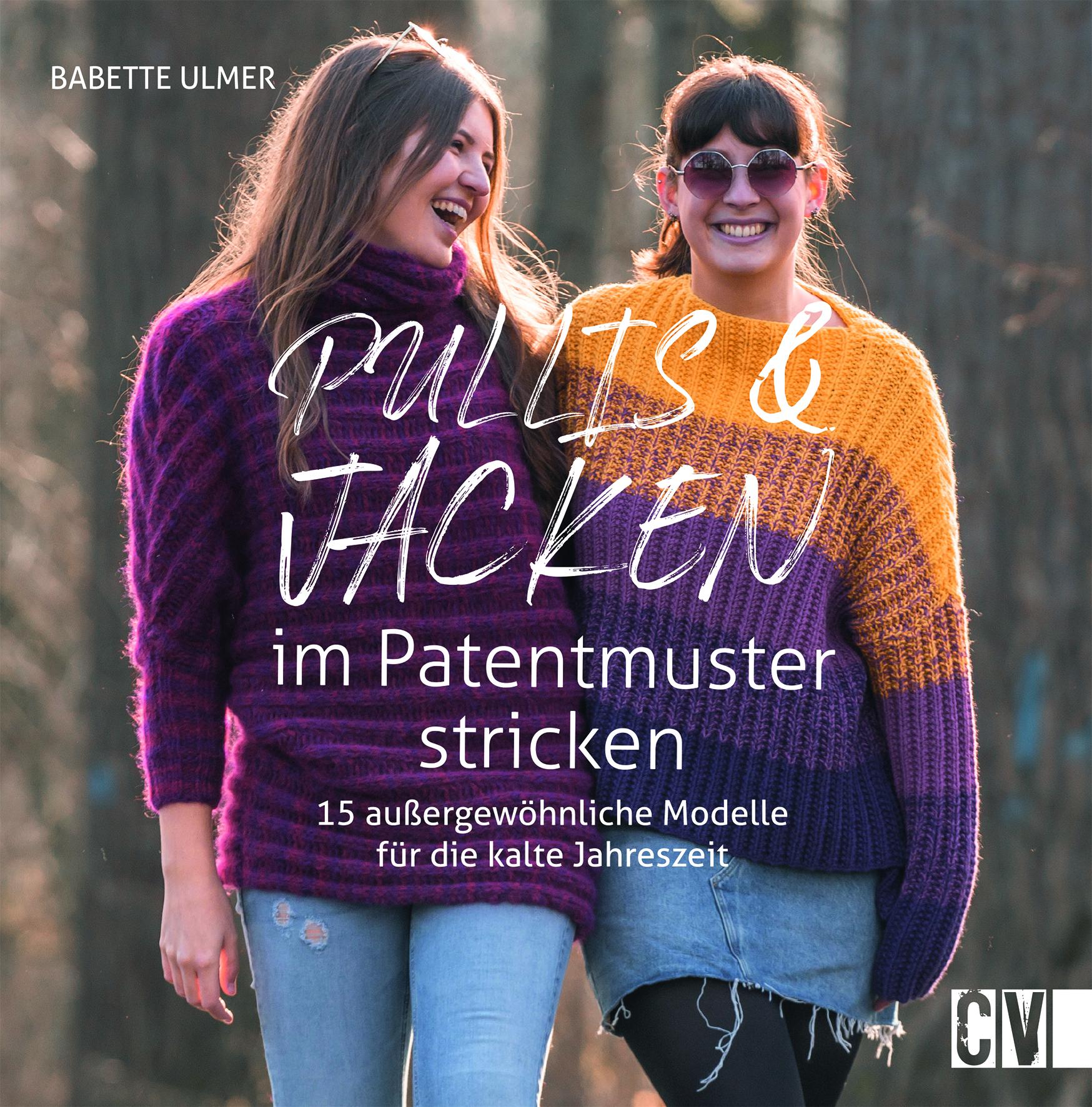CV 6580 Pullis und Jacken im Patentmuster stricken