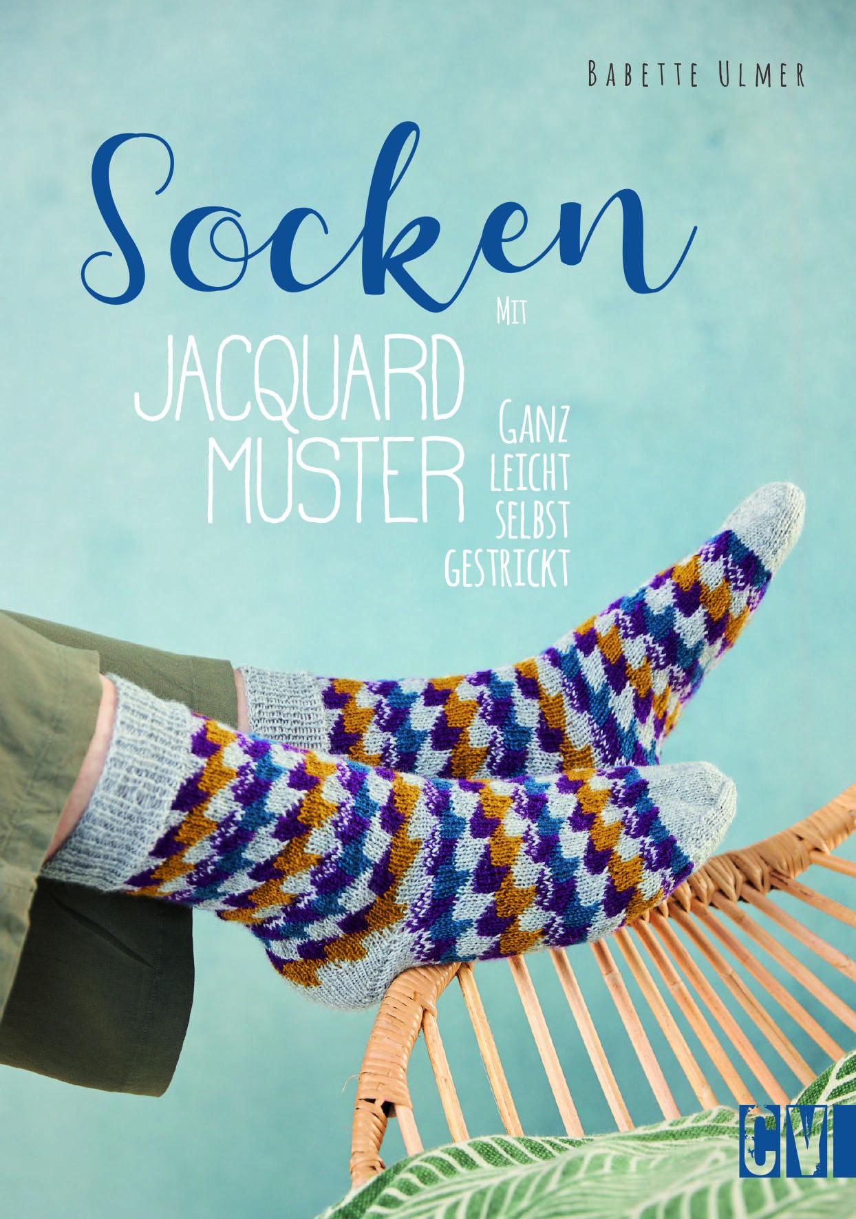 CV 6595 Socken mit Jacquard-Muster