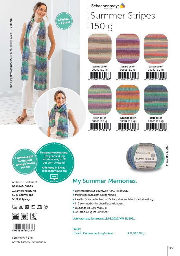 SMC Summer Stripes 150g.