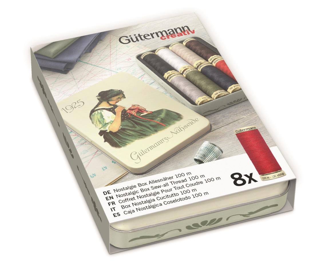 Gütermann 640950 Nostalgie-Box