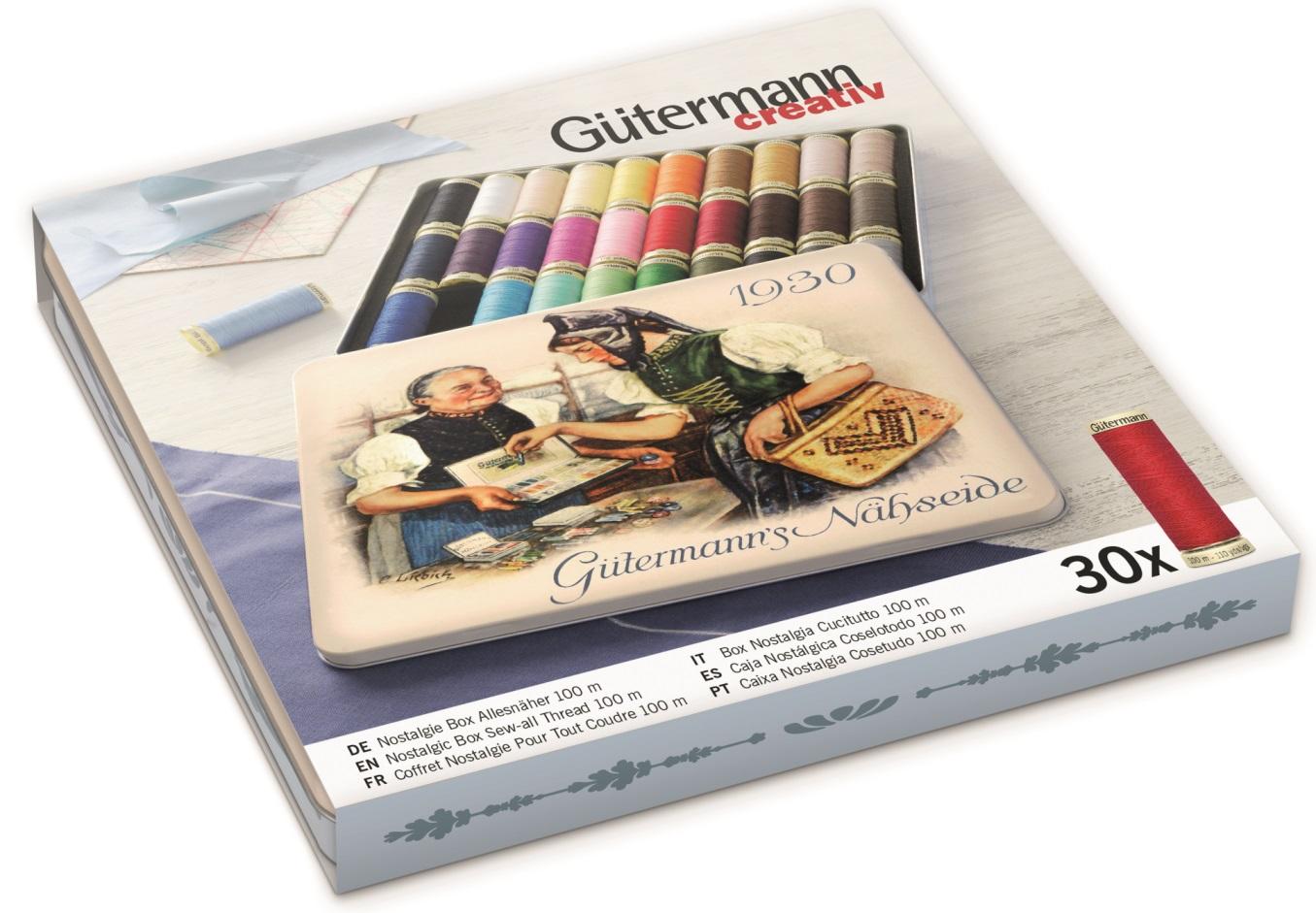 Gütermann 640953 Nostalgie-Box
