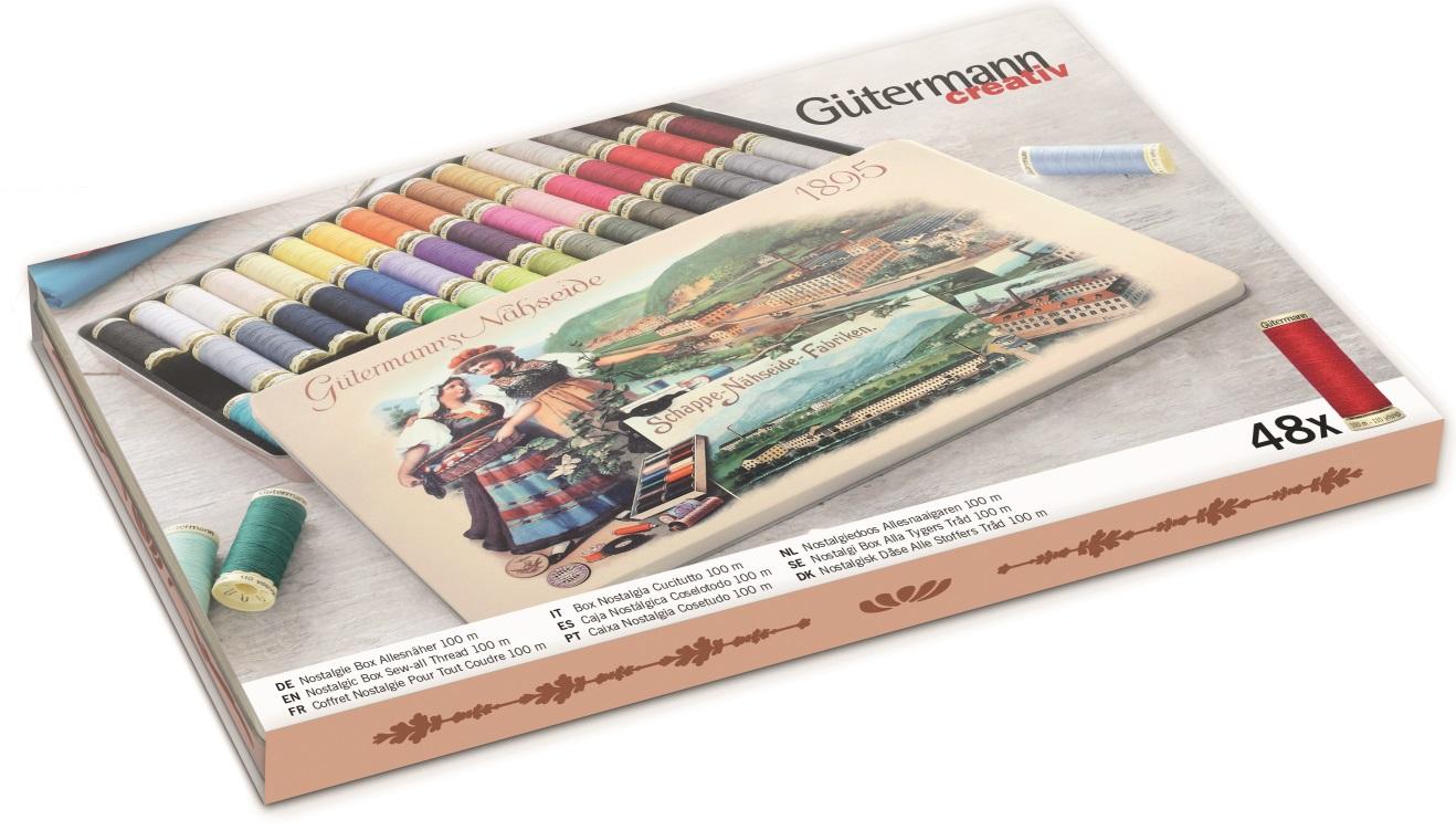 Gütermann 640954 Nostalgie-Box