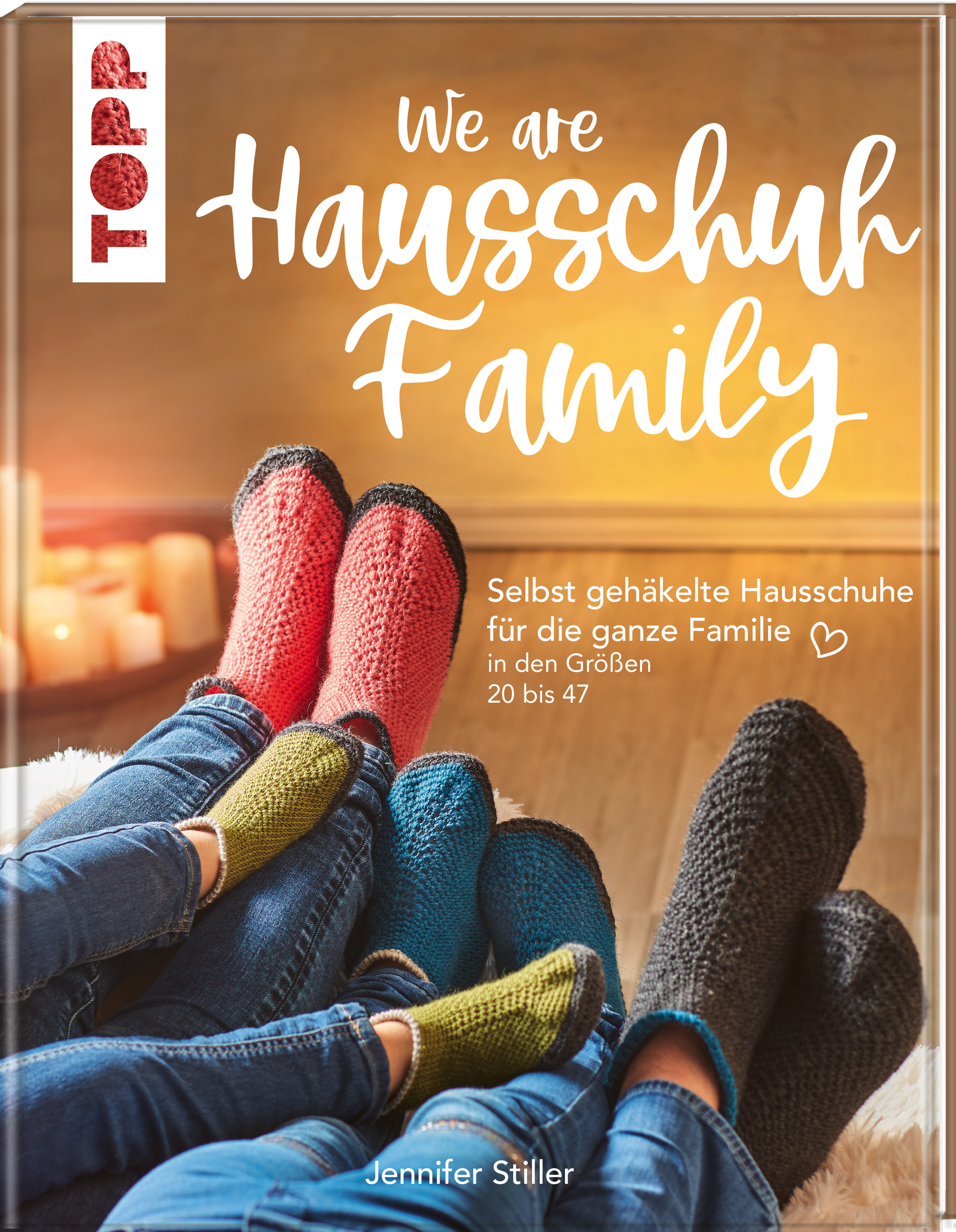 Topp 4833 We are Hausschuh-Family