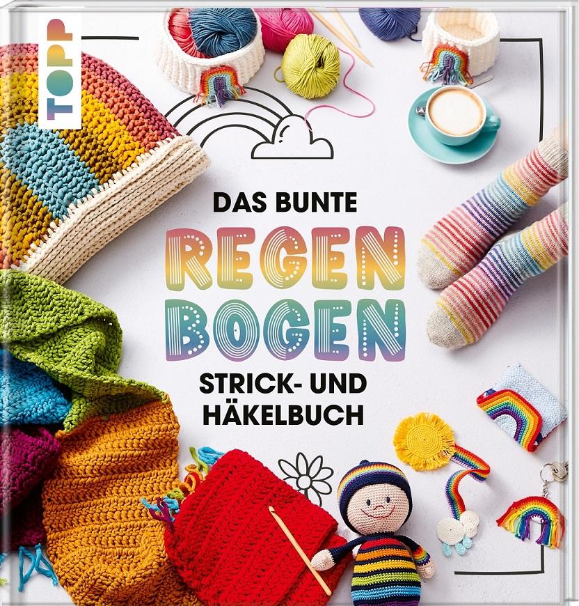 Topp 4865 Das bunte Regenbogen Strick-