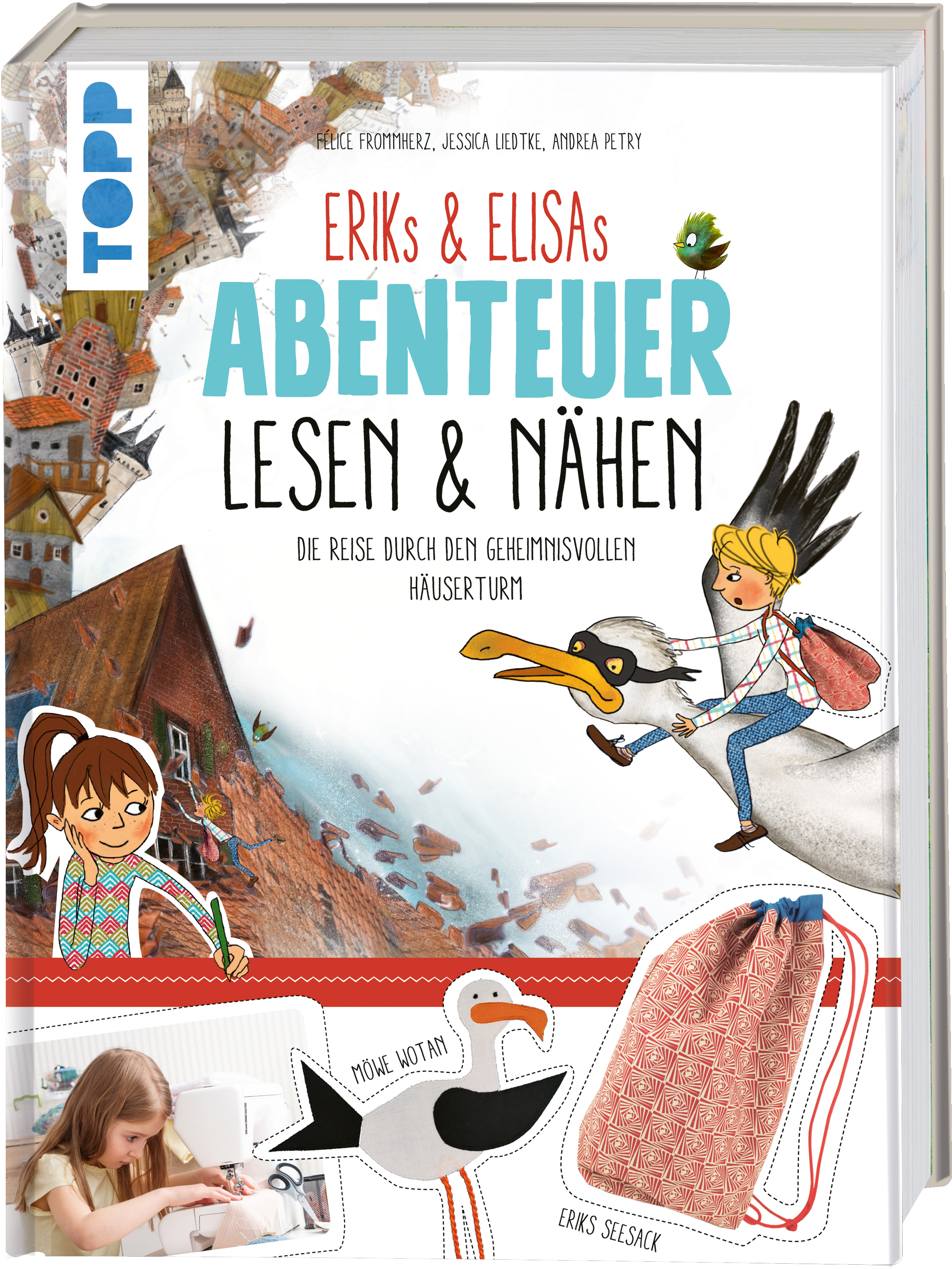 Topp 4954 Erik&Elisas Abenteuer lesen & nähen