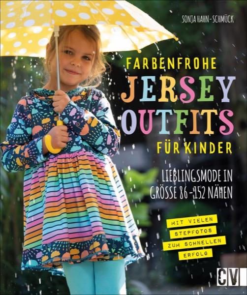 CV 6627 Farbenfrohe Jersey-Outfits für Kinder
