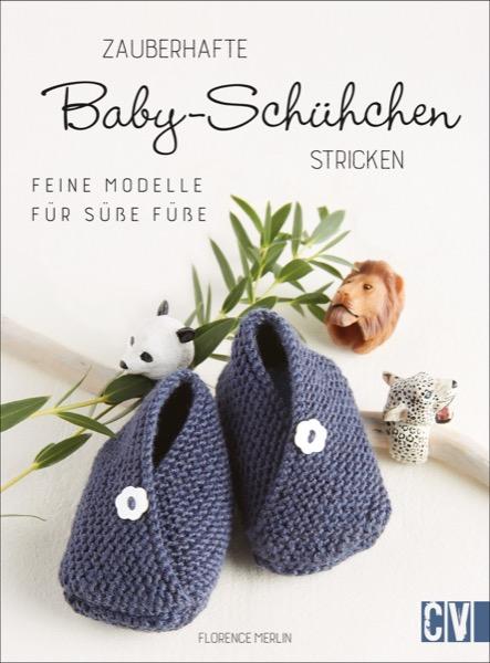 CV 6635 Zauberhafte Baby-Schühchen stricken