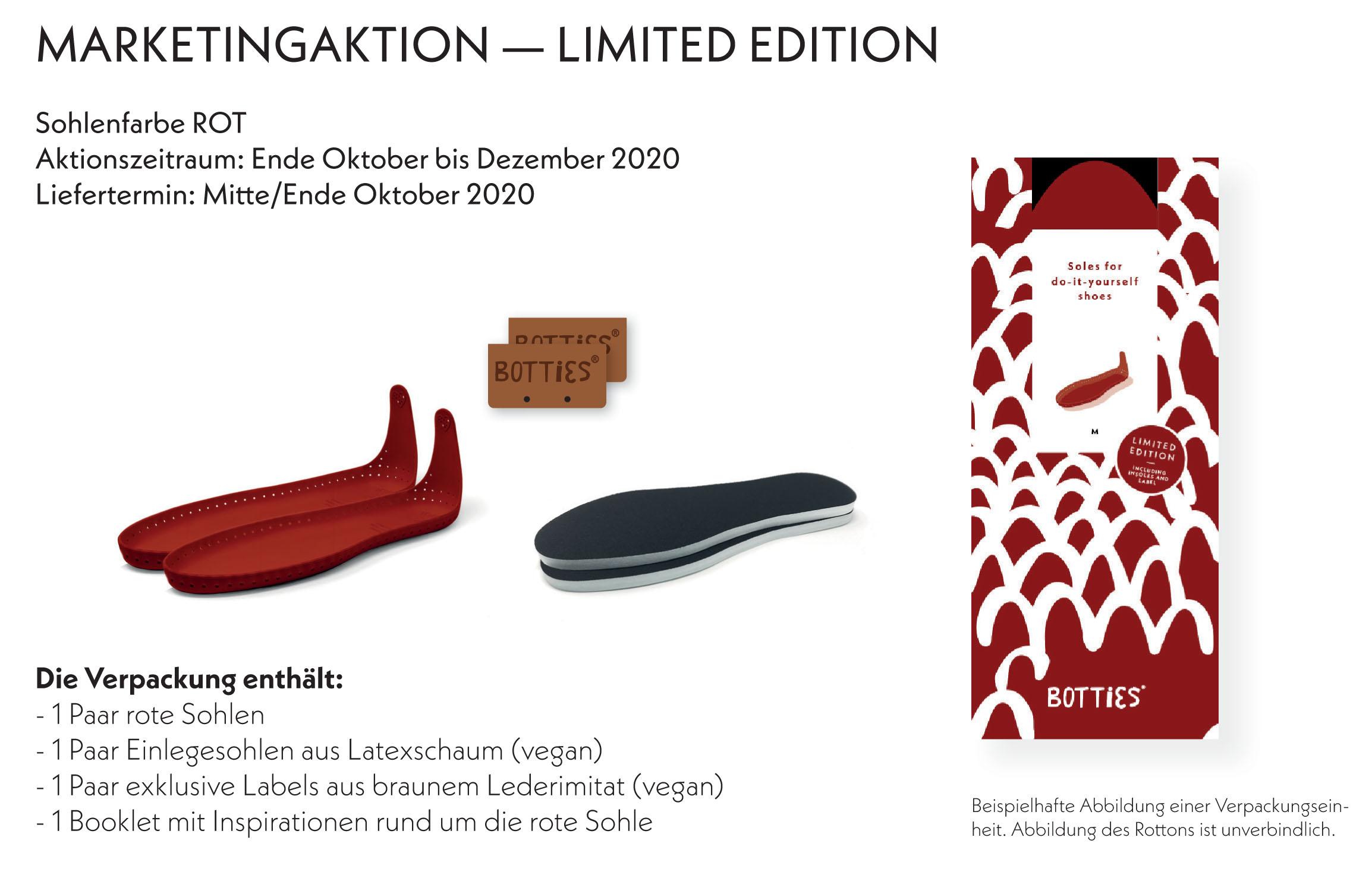 Botties® Sohlen - Limited Edition -