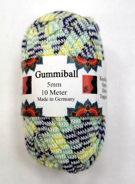 Gummiball 5mm 10m Knäuel VE 10 Stück