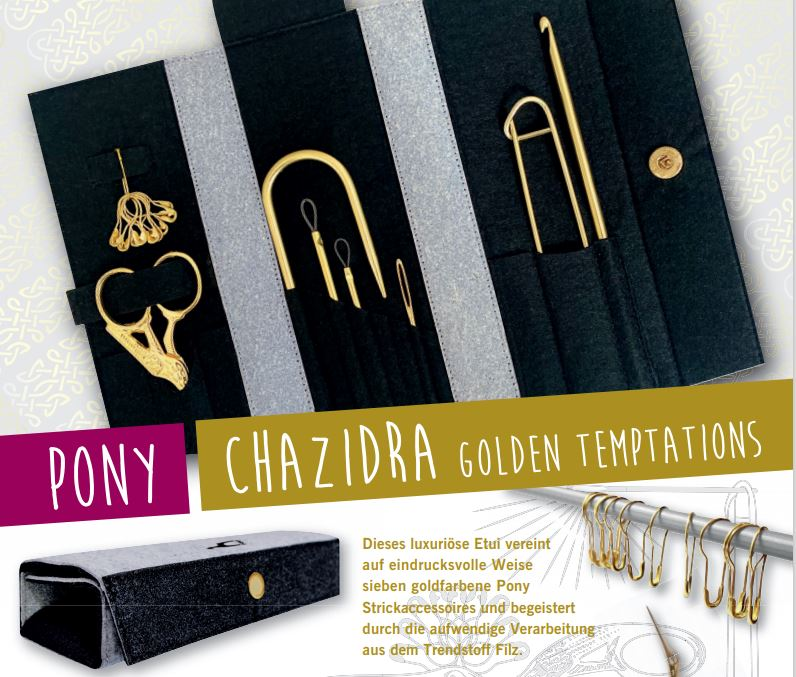 Pony CHAZIDRA Golden Temptations  Set
