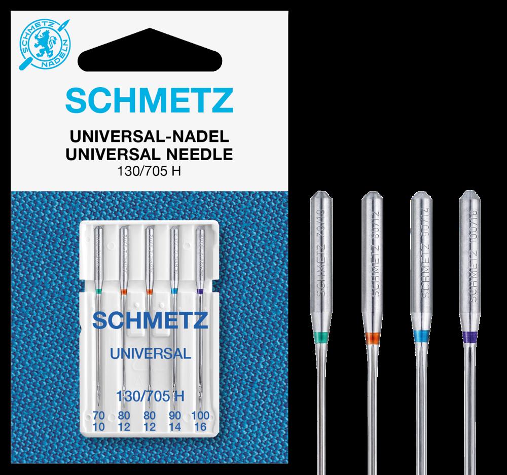 Schmetz Nähmaschinennadeln Universal 70-100 5er P.
