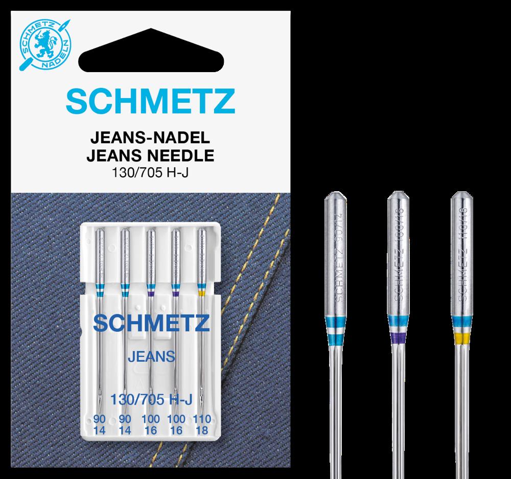 Schmetz Nähmaschinennadeln Jeans 90-110