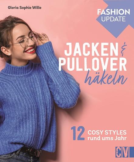 CV 6658 Fashion Update: Jacken & Pullover häkeln