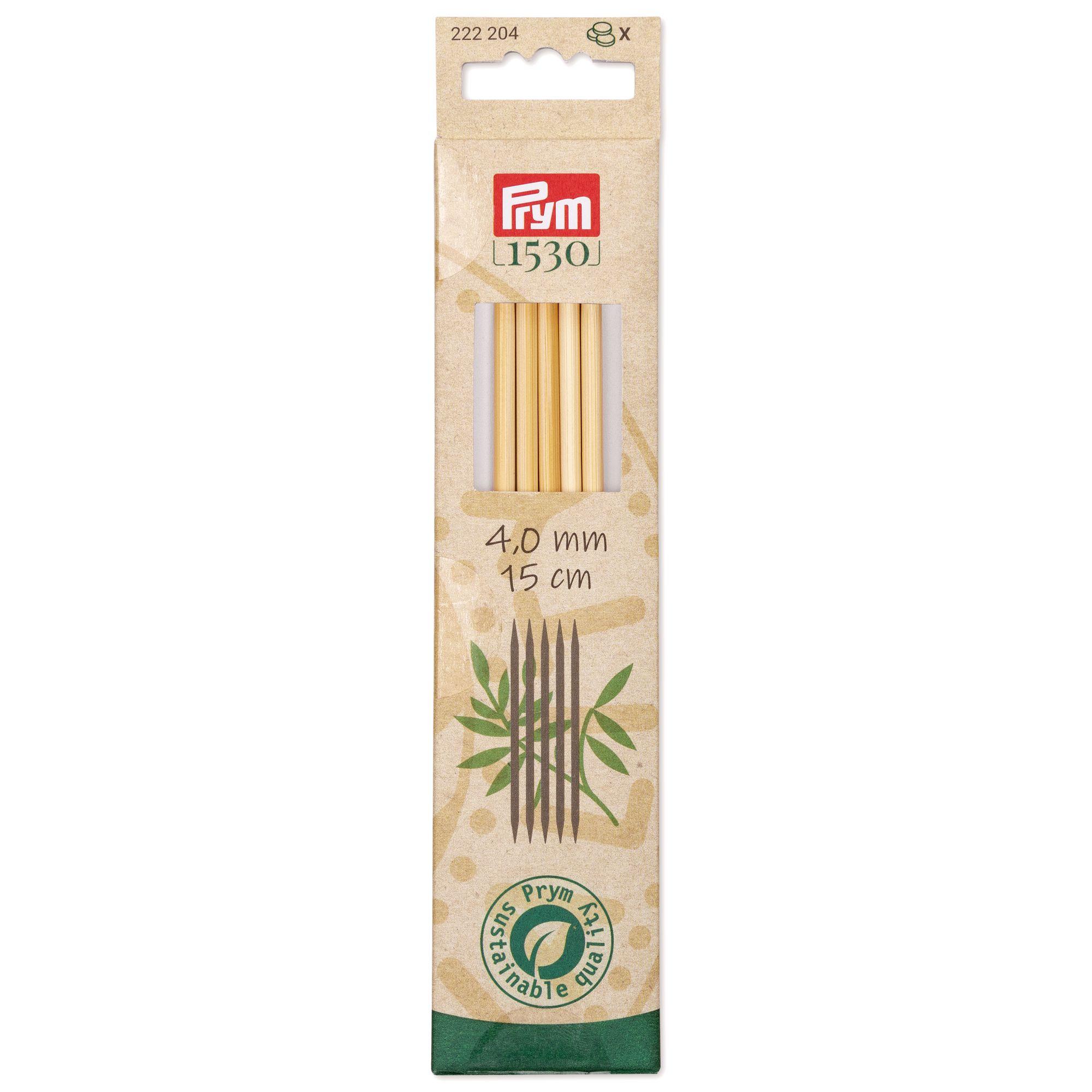 Prym 222204 Strumpfstricknadeln Bambus