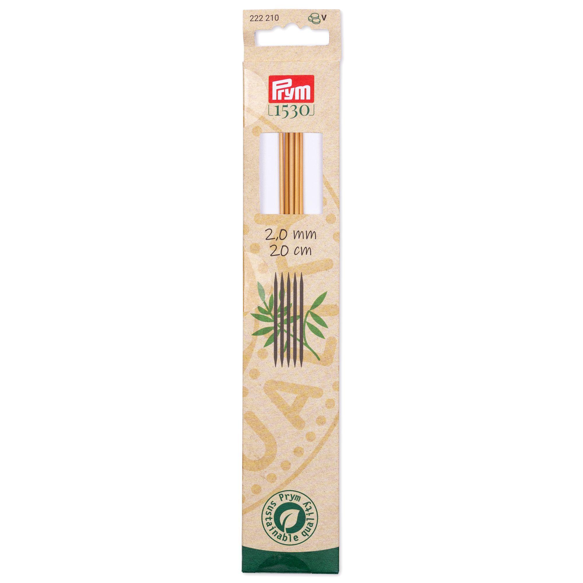 Prym 222210..222213 Strumpfstricknadeln Bambus