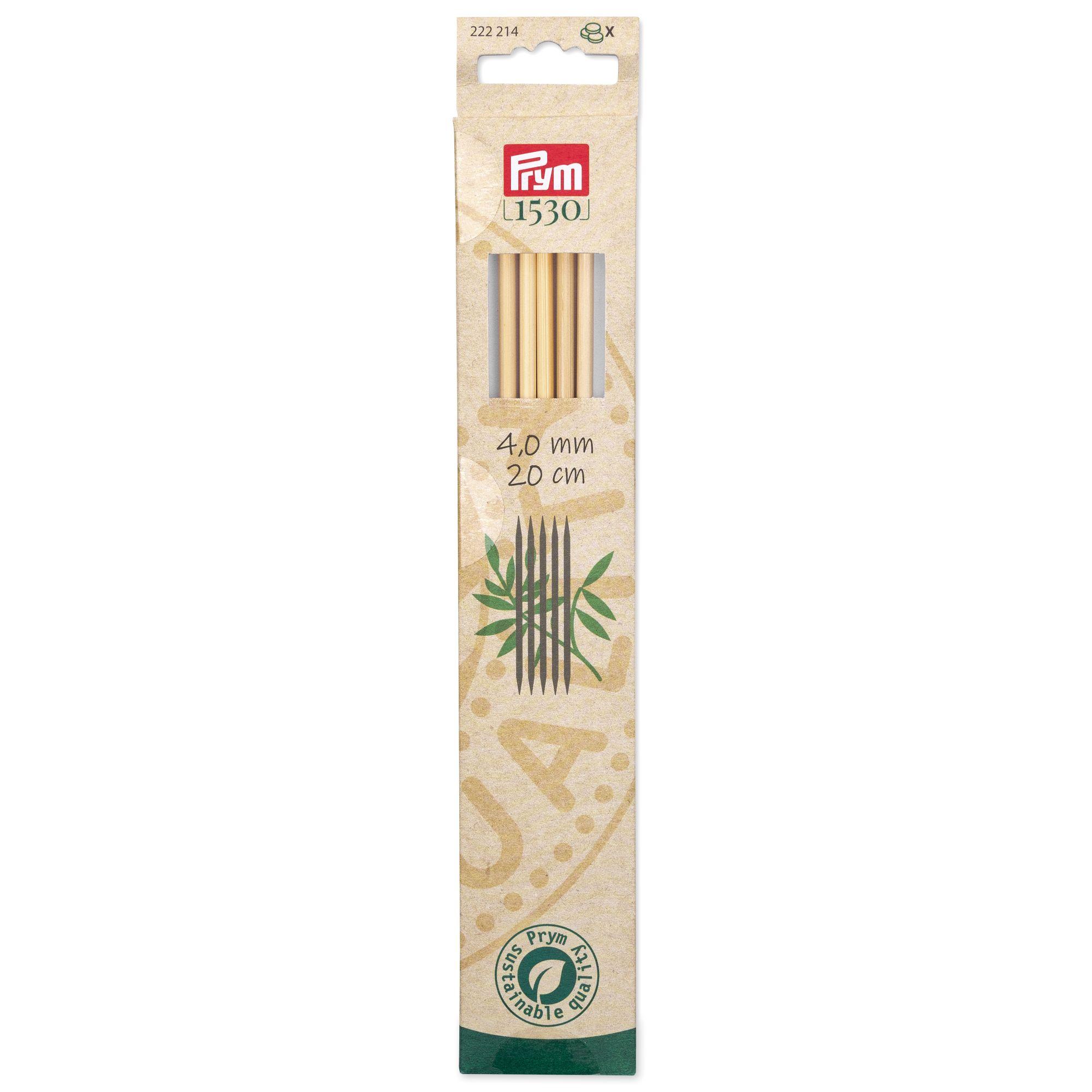 Prym 222214..222216 Strumpfstricknadeln Bambus
