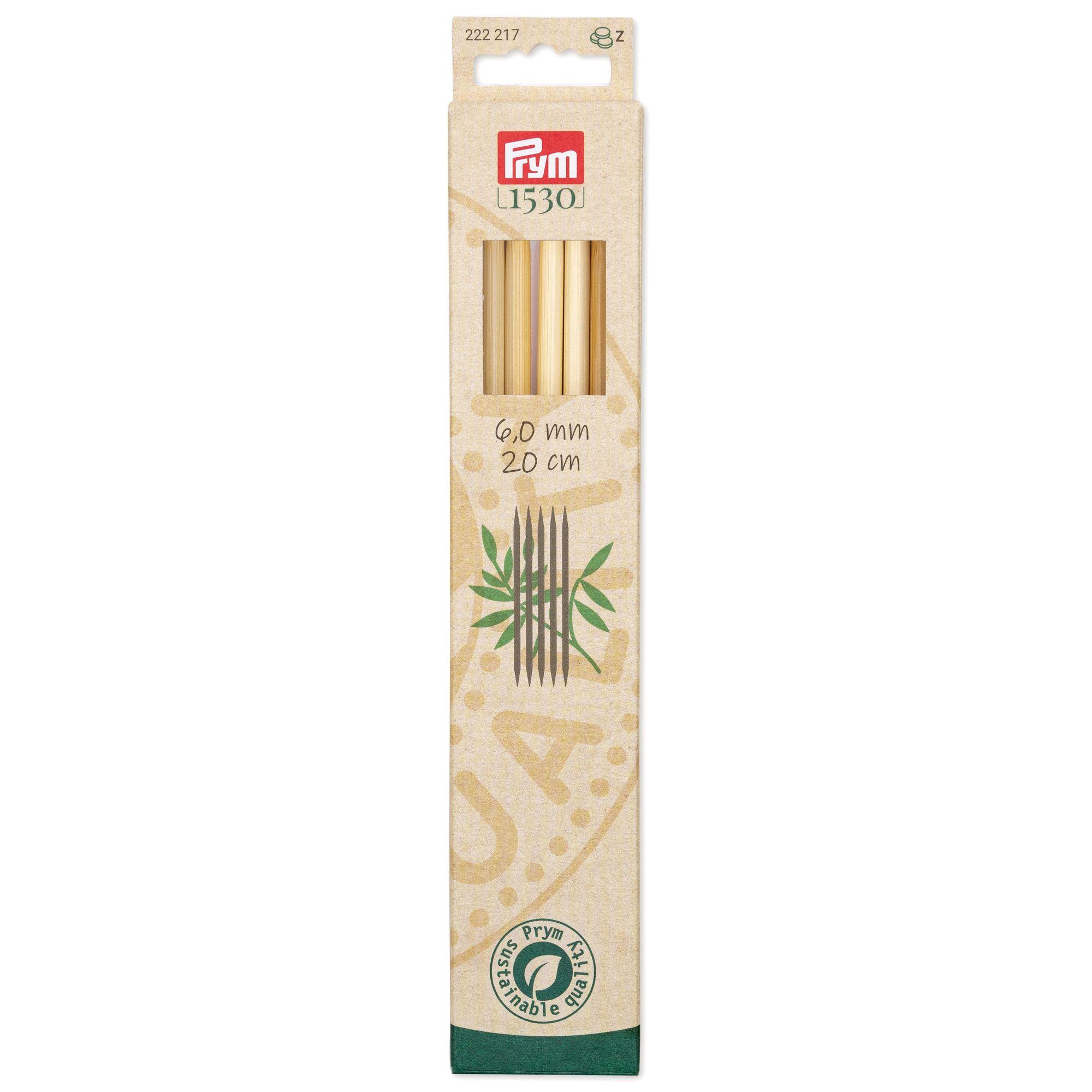Prym 222117..222130 Strumpfstricknadeln Bambus