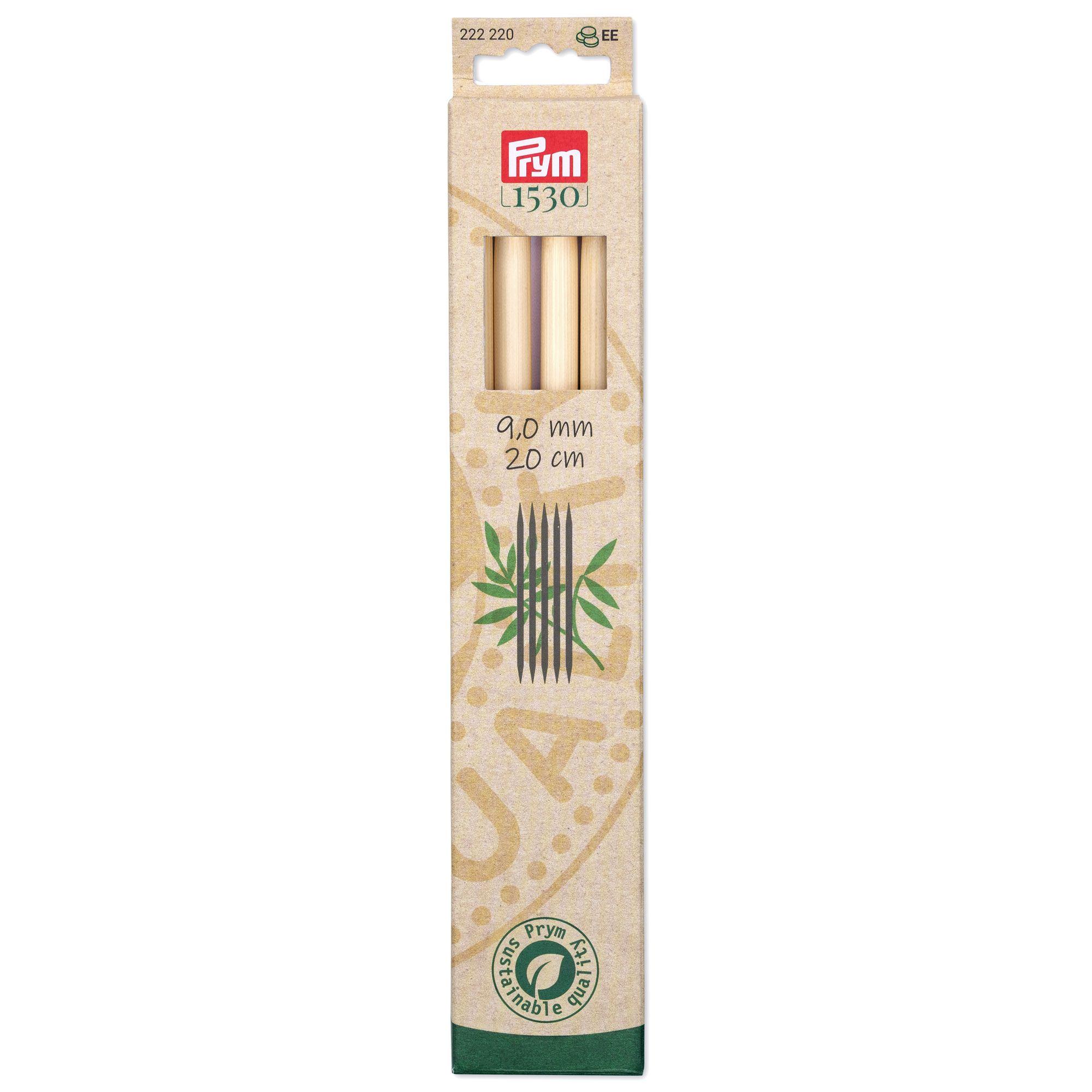 Prym 222220 Strumpfstricknadeln Bambus