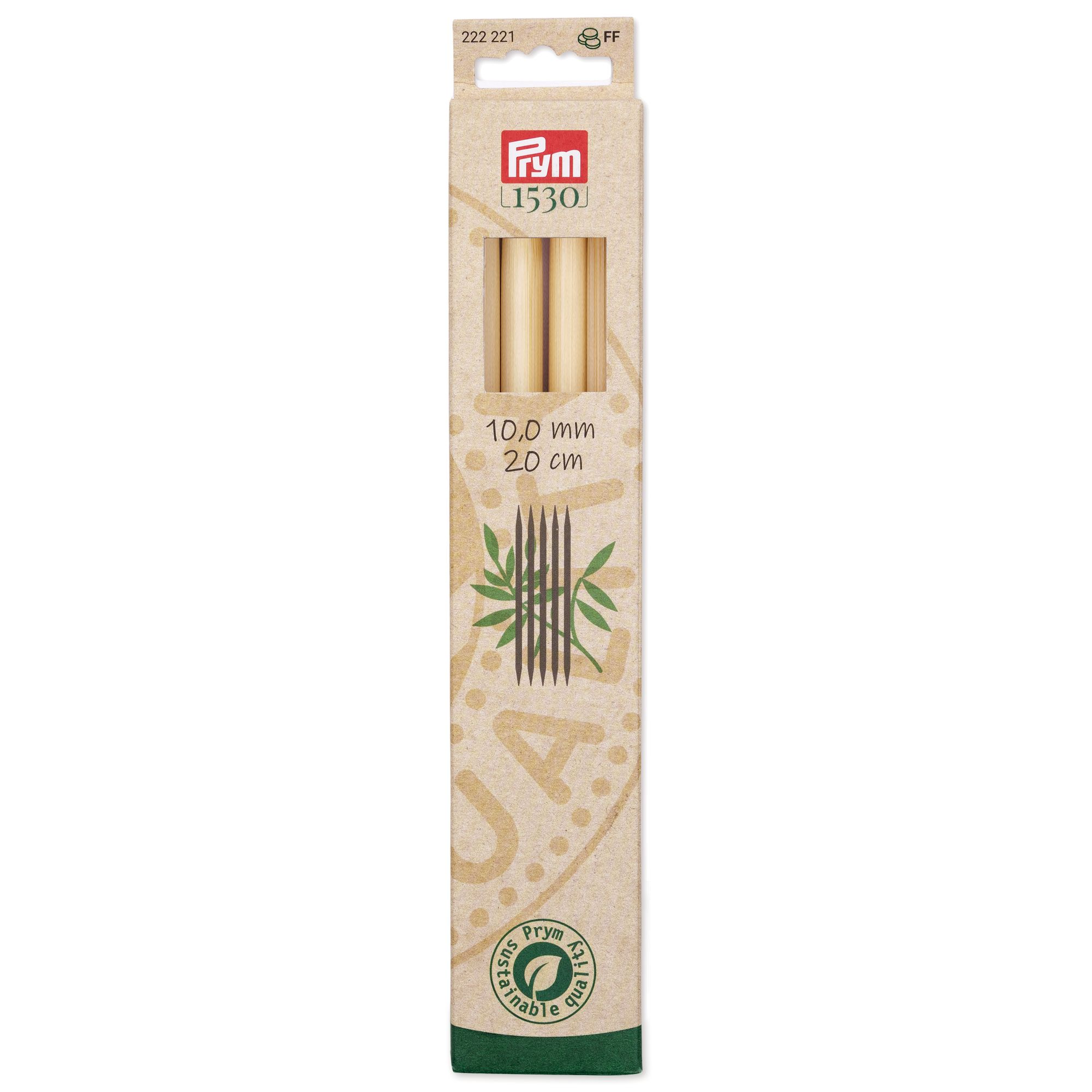 Prym 222221 Strumpfstricknadeln Bambus