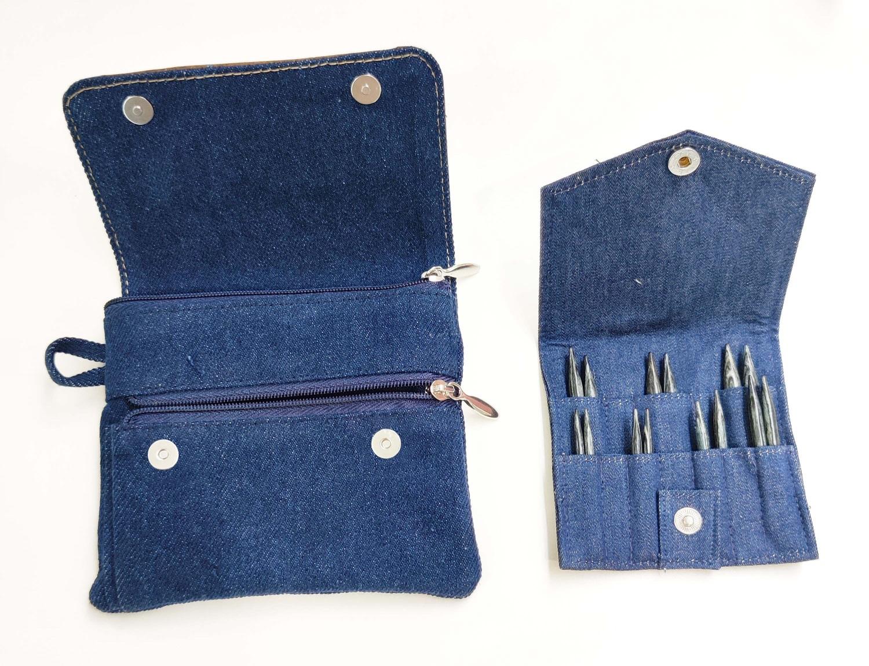 Knit Pro 20645  Set Indigo Wood Short,  IC-Nadeln