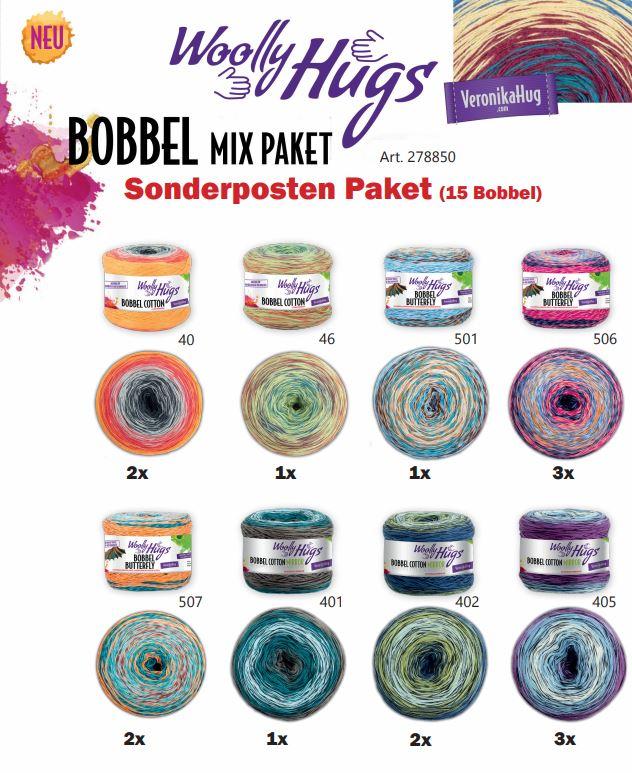 BOBBEL Sonderposten Paket (15 BOBBEL)