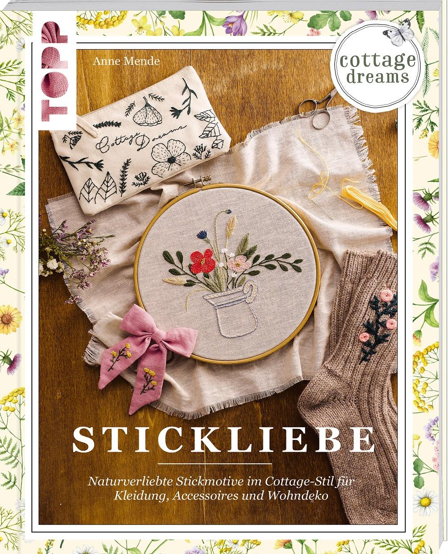 Topp 6857 Stickliebe, Cottage Dreams
