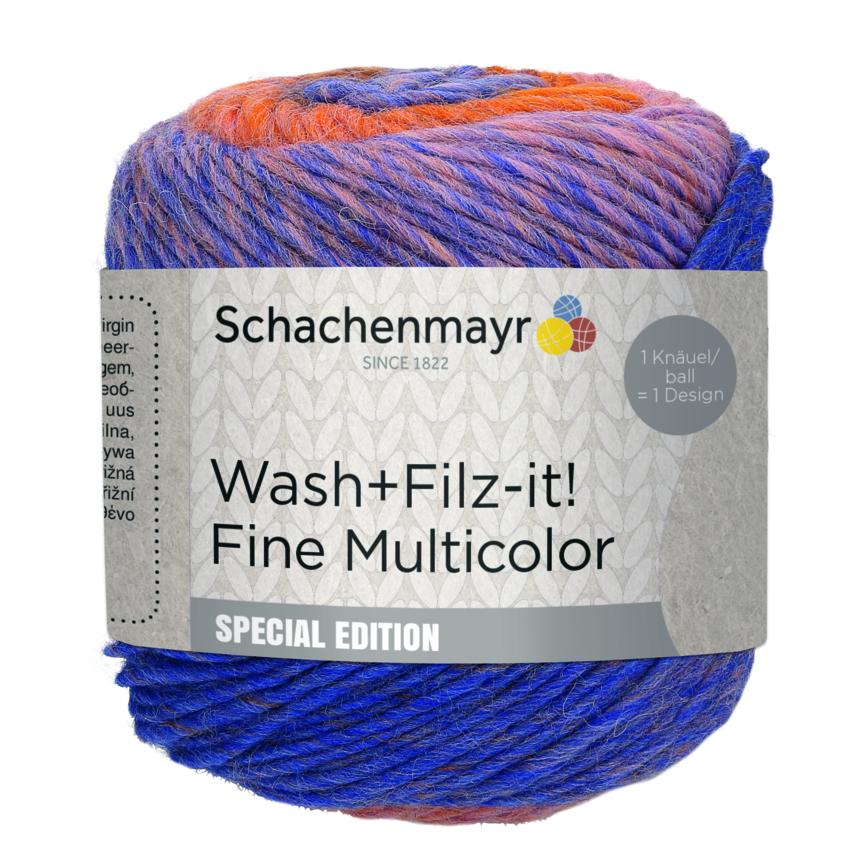 SMC Wash+Filz-it! Fine Multicolor 100g.