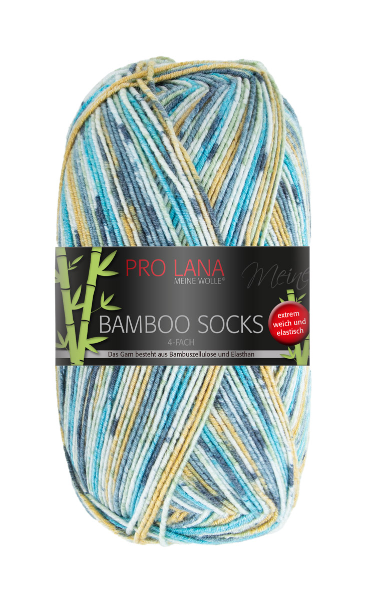 Pro Lana Bamboo Socks 100g Sort. 8kg