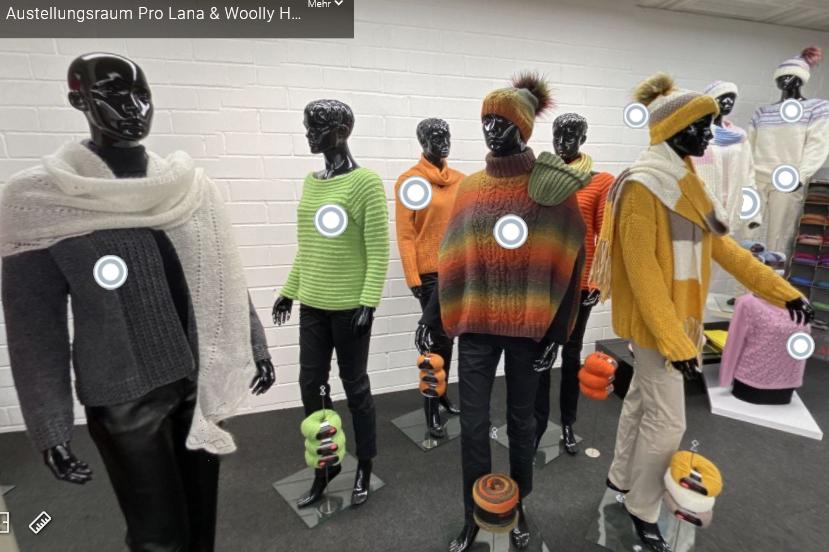 digitaler Ausstellungsraum