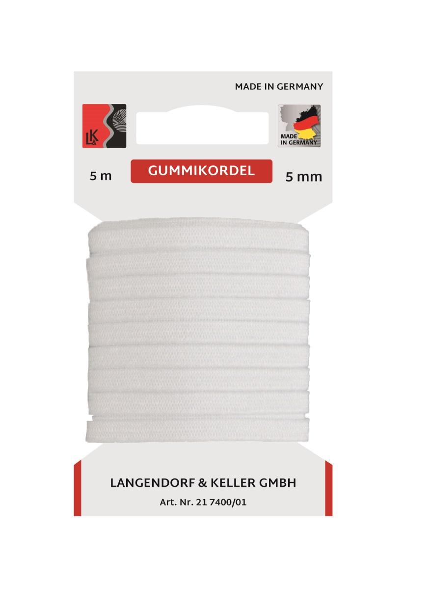 L&K Standard Elastic SB 10m/ 5mm  Made in Germany