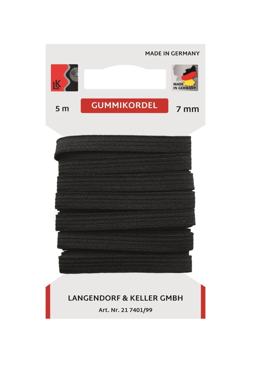 L&K Standard Elastic SB 10m/ 7mm  Made in Germany