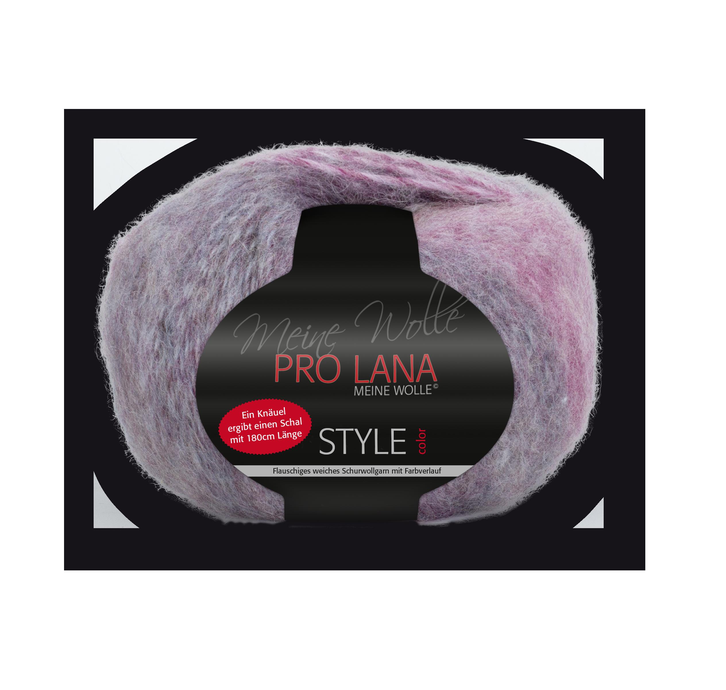 Pro Lana Style 150g. Sort. 3,75kg