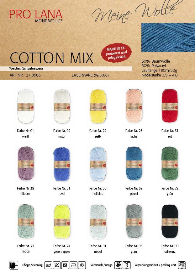 Pro Lana Cotton Mix 50g  0,5kg