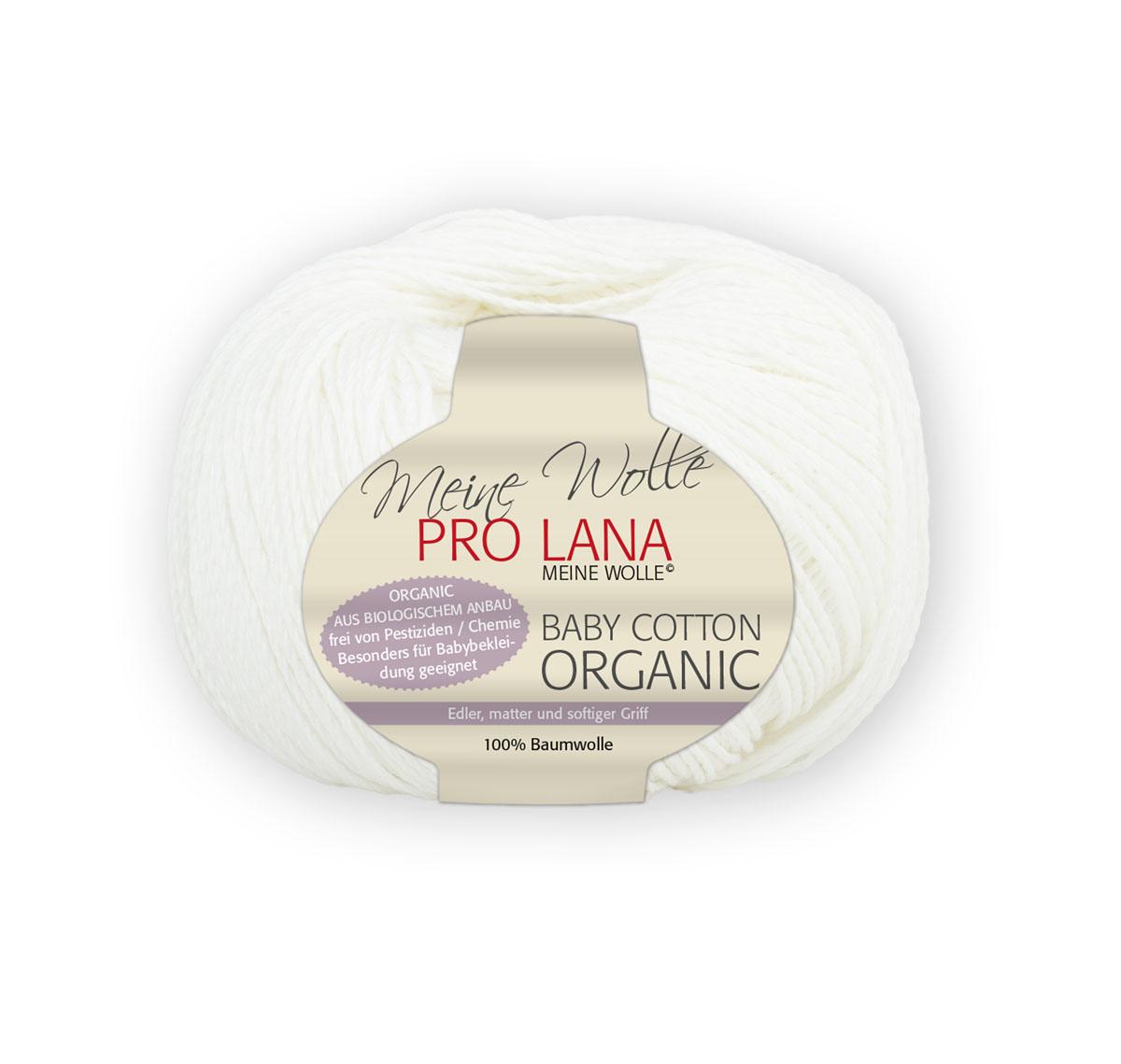 Pro Lana Baby cotton organic 50g   0,5kg